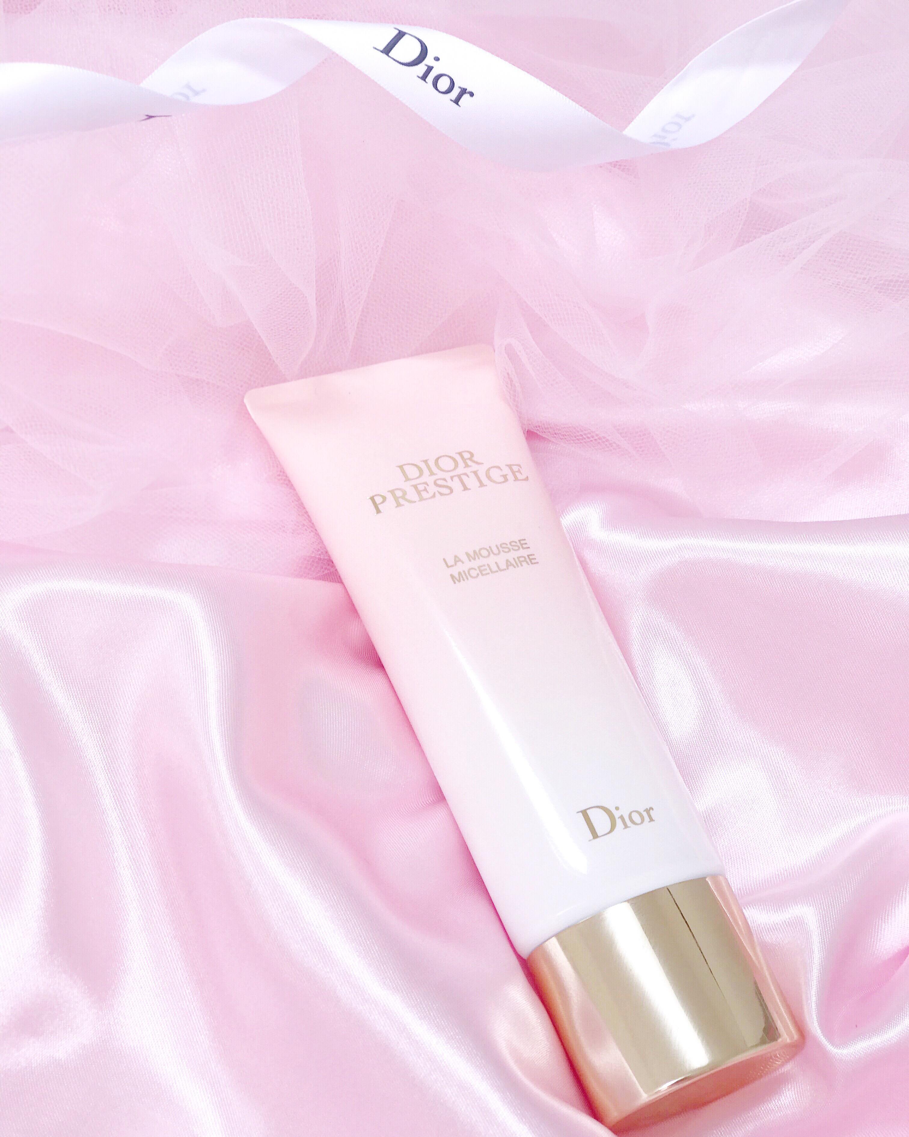 Oh So Heavenly Rose Petal Skin New Dior Prestige La Mousse Micellaire Freya S Fairytale