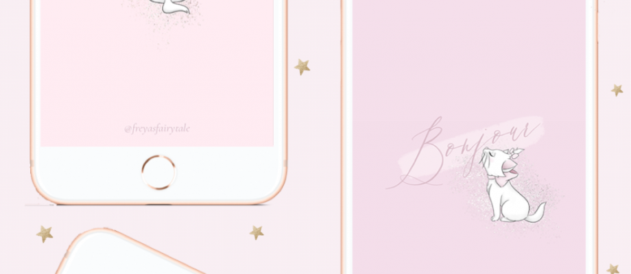 Little Lady: Free Girly Marie Phone Wallpapers
